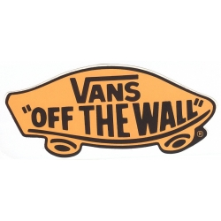 Vans Off The Wall Ltd Fluo Orange sticker
