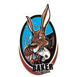 Baker beat it sticker