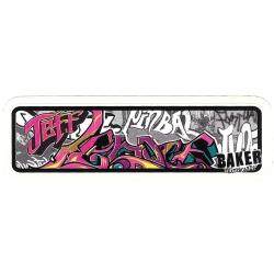 Baker jeff lenoce urban sticker