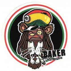 Baker lion zion sticker