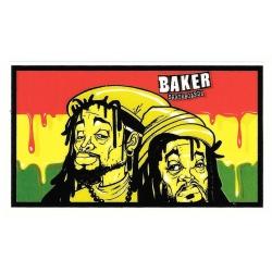 Baker rastamen sticker