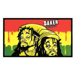 Baker rastamen sticker