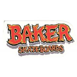 Baker redwood m sticker
