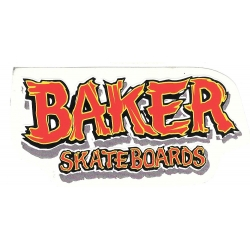 Baker redwood m sticker