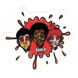 Baker splash blood sticker