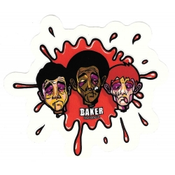 Baker splash blood sticker
