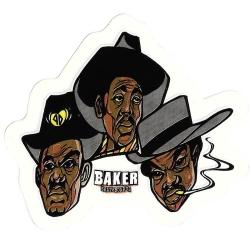 Baker three horsemen sticker