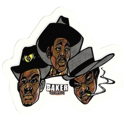 Baker three horsemen sticker