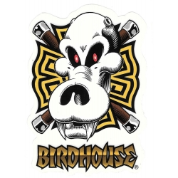 Birdhouse asian skull sticker