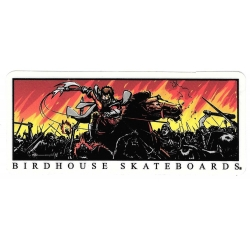 Birdhouse battle sticker
