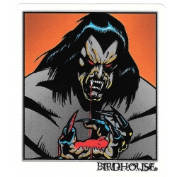 Birdhouse hand blood sticker