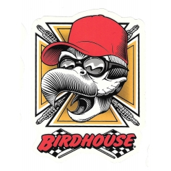 Birdhouse racer sticker