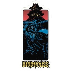 Birdhouse samurai sticker