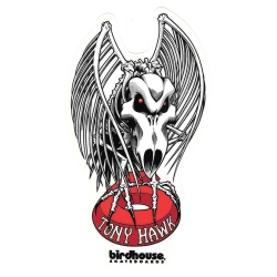 Birdhouse tony hawk schedel sticker