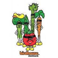 Birdhouse Skateboards vegetables smokers sticker
