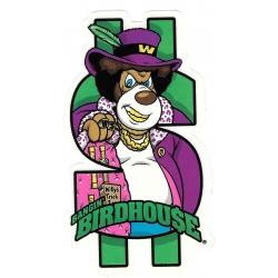 Birdhouse willy bangin sticker