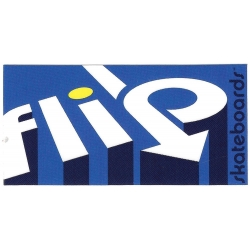 Flip 3d arrow sticker