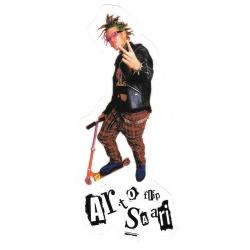 Flip arto saari scooter punk sticker
