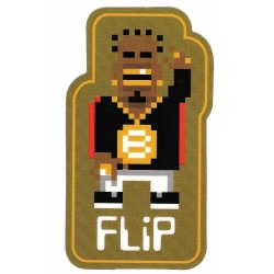 Flip bastien b sticker