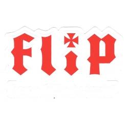 Flip hate kill destroy sticker