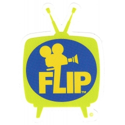Flip sorry tv sticker