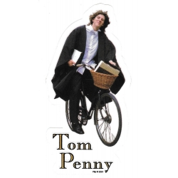 Flip tom penny bike sticker