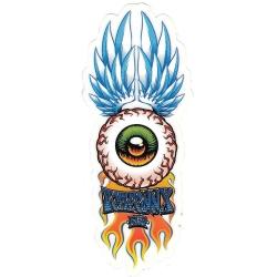 Flip tom penny winged eye sticker