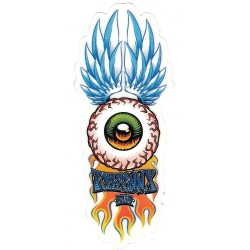Flip tom penny winged eye sticker