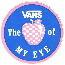 Vans the apple of my eye sticker