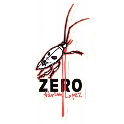 Zero Skateboards lopez insect blood sticker