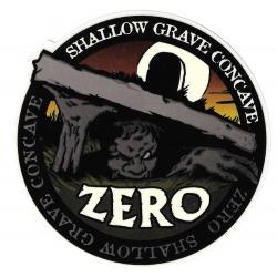 Zero shallow grave concave sticker