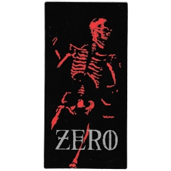 Zero Skateboards skeleton sticker