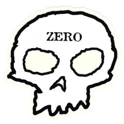 Zero skull m sticker