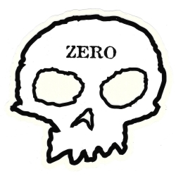 Zero Skateboards skull m sticker