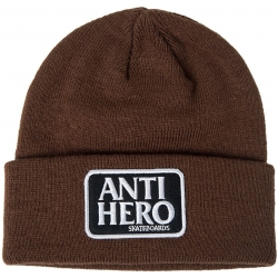 Anti-Hero Patch Brown beanie
