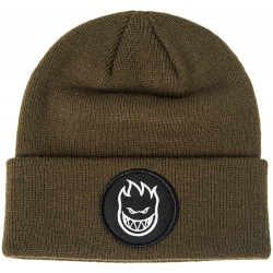 Spitfire Bighead circle patch Olive beanie