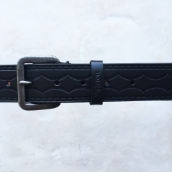 Brixton black hollows belt