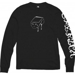Emerica Spanky Face LS Black t-shirt