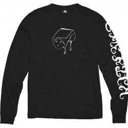 Emerica Spanky Face LS Black camiseta