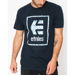 Etnies Bloodline Icon Navy t-shirt