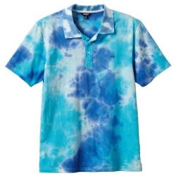 Enjoi Wallie Polo ciano maglietta