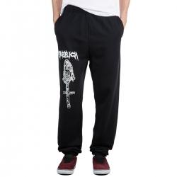Emerica Funeral French Sweatpant Black pantalon-short