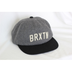 Brixton College - Grey Black casquette