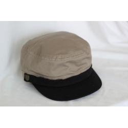 Brixton Busker - Light brown black casquette