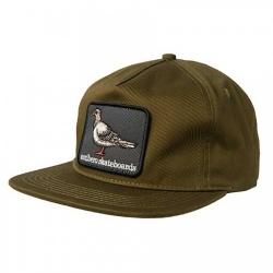 Anti-Hero Pigeon Patch Snapback Dark Olive casquette