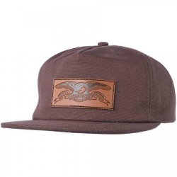 Anti-Hero Skateboards Issue Eagle Snapback Brown casquette