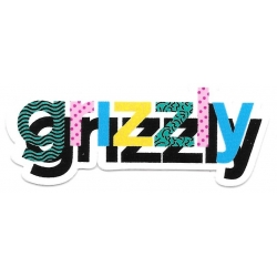 Grizzly memphis sticker