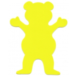 Grizzly yellow bear sticker