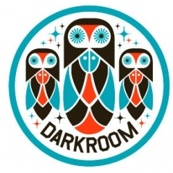 Darkroom Ibis sticker