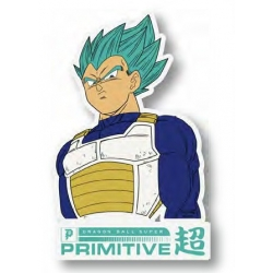 Primitive Vegeta Classic Clear sticker